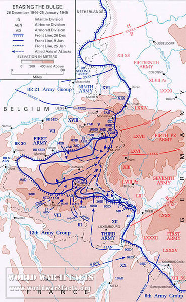 Erasing the Bulge -- The Allied counterattack, 26 December - 25 January