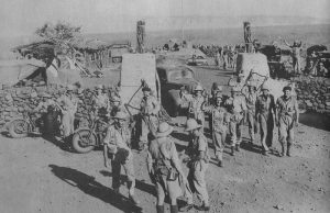 Hobok Fort captured by 1st South African Infantry Division, February 1941.
