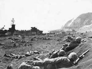 Marines Iwo Jima Beach