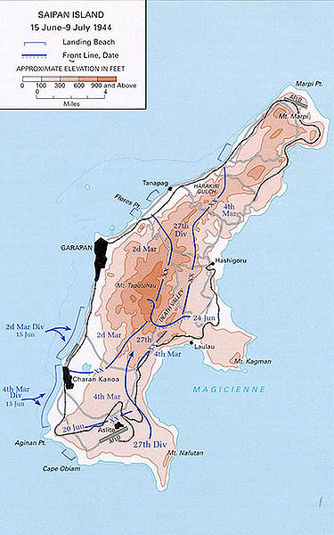 Battle of Saipan Facts