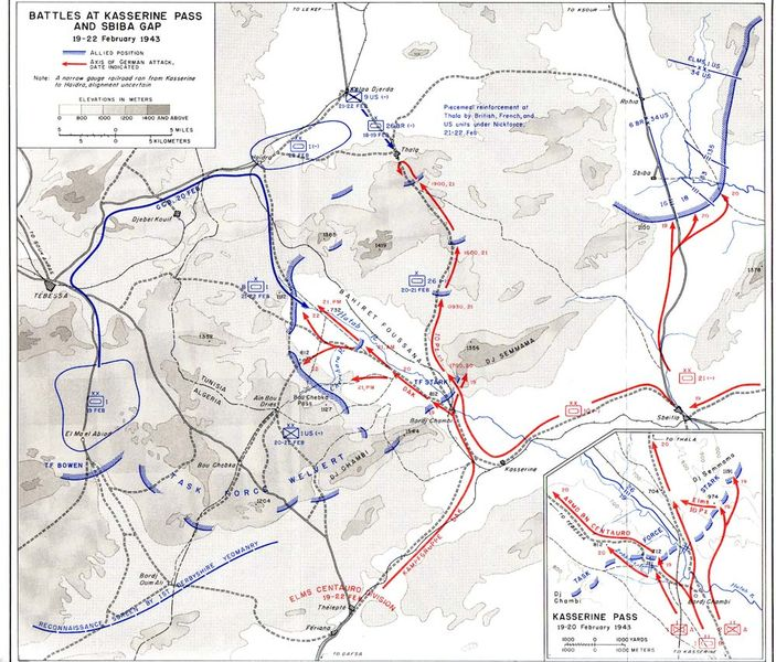 Battle of the Kasserine Pass Facts