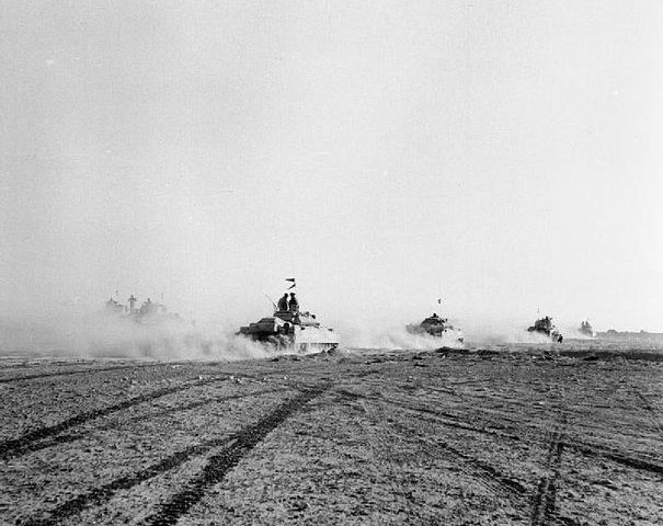 El_Alamein_1942_-_British_tanks