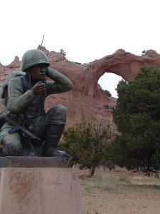 Navajo_Code_Talker_Monument