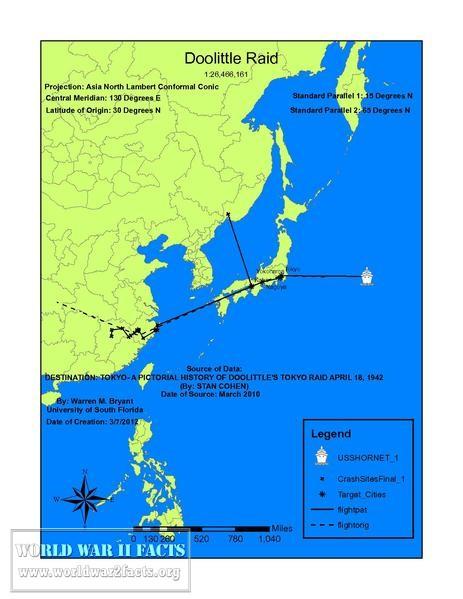 Doolittle Raid | World War 2 Facts on battle of wake island, battle of attu map, battle of iwo jima, bombing of tokyo in world war ii, solomon islands campaign, battle of peleliu, battle of manila map, midway map, battle of angaur map, battle of okinawa, battle of coral sea map, iwo jima map, allied invasion of sicily map, battle of stalingrad map, battle of midway, guadalcanal map, first battle of el alamein map, doolittle b-25 wreckage, doolittle mission, battle of the java sea map, battle of saipan, attack on pearl harbor, battle of tarawa, naval battle of guadalcanal, ted w. lawson, battle of leyte gulf, d-day map, pacific war, battle of the coral sea, battle for henderson field map, guadalcanal campaign, allied invasion of italy map, thirty seconds over tokyo, tokyo map, battle of the philippine sea, battle of leyte gulf map, siege of sevastopol map, doolittle raiders, atomic bombings of hiroshima and nagasaki,