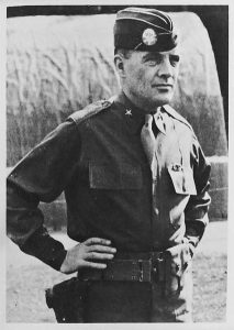 Then-Brigadier General Anthony C. McAuliffe during World War II.