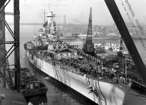 USS North Carolina (BB-55) Facts