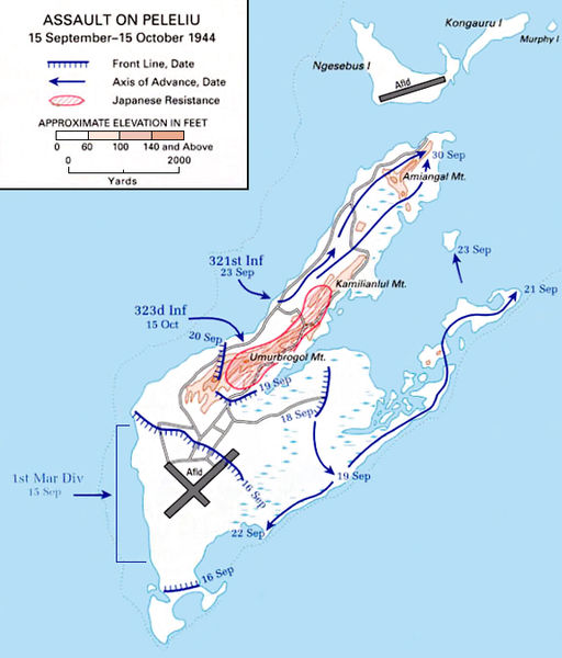 Battle of Peleliu Facts