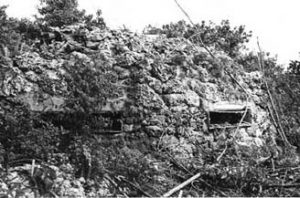 Japanese fortifications on Peleliu, September 1944