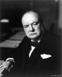 Sir Winston Churchill, Prime Minister of the United Kingdom Date 1941