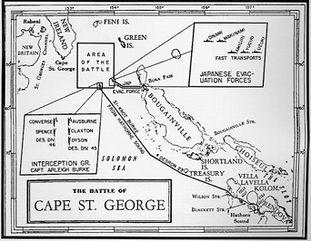 Battle of Cape St. George Facts