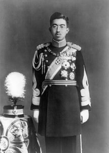 Emperor Hirohito in his dress uniform, 1935.