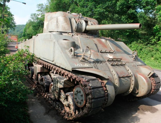 The M4 was the primary tank for the U.S. during WW2