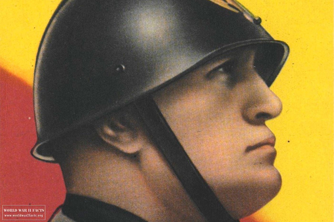 1940 DUX Benito Mussolini Post Card — Supreme Leader