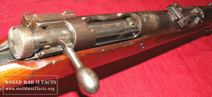 Wartime Japanese Arisaka Rifle
