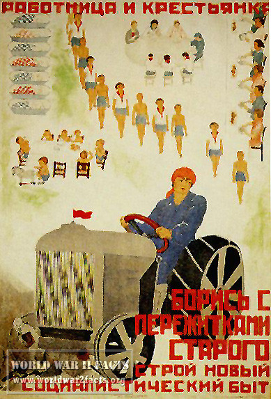 Russian war posters
